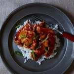 Spicy Orange-Ginger Chicken - Just like takeout (or Trader Joe's), but healthier and made at home!