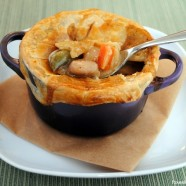 Classic Chicken Pot Pie - Comfort food at it's finest, easily customizable for your family's tastes! | foxeslovelemons.com