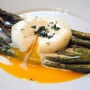 Want to impress your guests at brunch? Try this Roasted Asparagus with Lemon-Mustard Sauce - an easy but elegant dish that makes you look like a star.