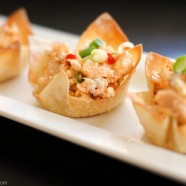 Buffalo Chicken Salad Wonton Cups1