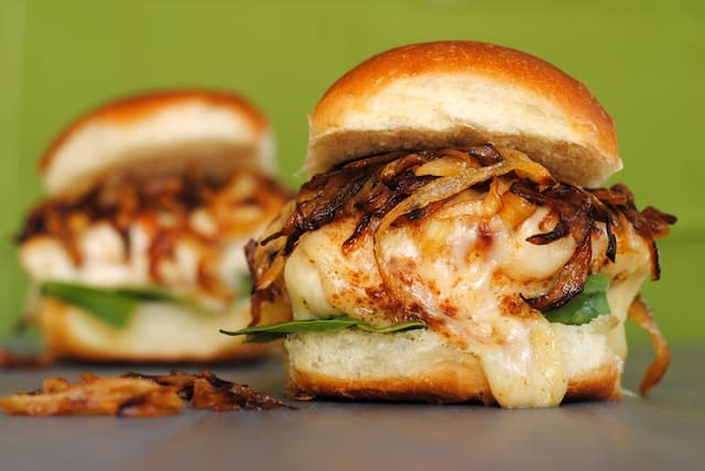 Onion Chicken Sandwiches - all of the flavor of French Onion Soup ...