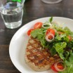 Grilled Tuna with Marinated Tomato & Arugula Salad - a simple yet special meal that impresses!