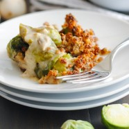 Horseradish-Gruyere Brussels Sprouts Gratin4
