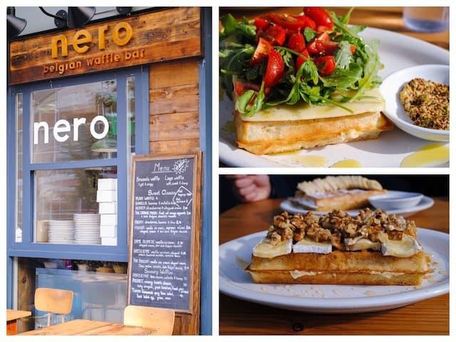 Nero Belgian Waffle Bar Vancouver | foxeslovelemons.com