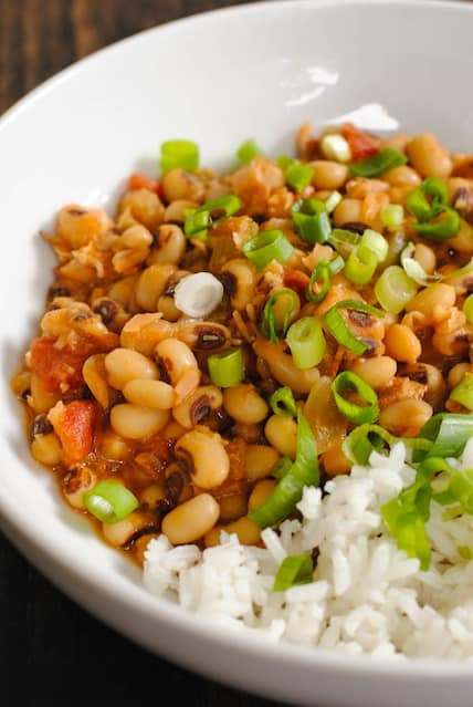 Hoppin' John for the New Year - Eating black-eyed peas on New Year's ...