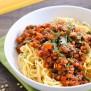 Lentil-Mushroom Ragu #WeekdaySupper