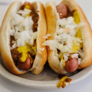 Lafayette and American Coney Island Challenge in Detroit, Michigan | foxeslovelemons.com
