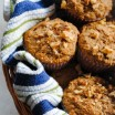 Maple-Pecan Bran Muffins - A tasty breakfast packed with vitamins and nutrients! | foxeslovelemons.com