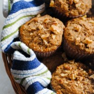Maple-Pecan Bran Muffins - A tasty breakfast packed with vitamins and nutrients!