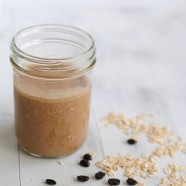 Mocha-Banana Breakfast Smoothie - A fruity smoothie and a cup of coffee...all in one!