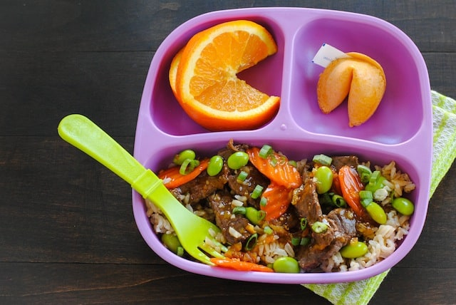 Orange Beef & Veggie Stir-Fry - Kid-friendly takeout fake-out at home ...