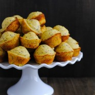 Lemon-Poppyseed Cornbread Mini Muffins - A versatile mini muffin that can be served with a savory meal or enjoyed on its own!