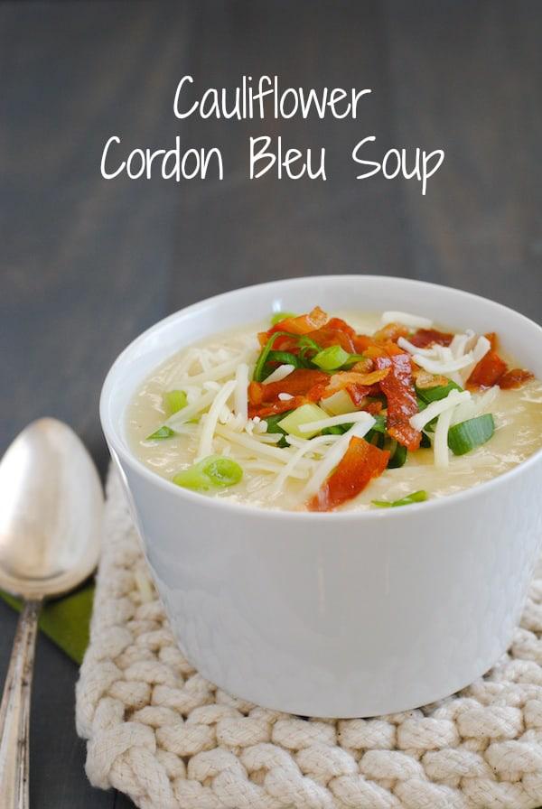 cauliflower prosciutto soup